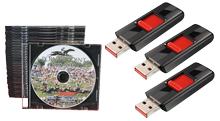 CD, DVD, USB Drive